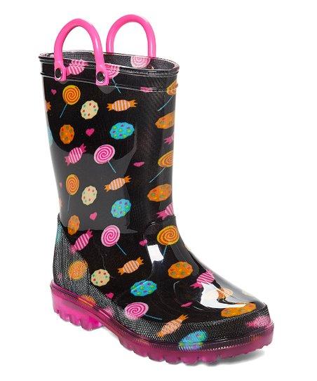 674f6c858cda LILLY of NEW YORK Candy LED Light Up Rain Boot - Girls