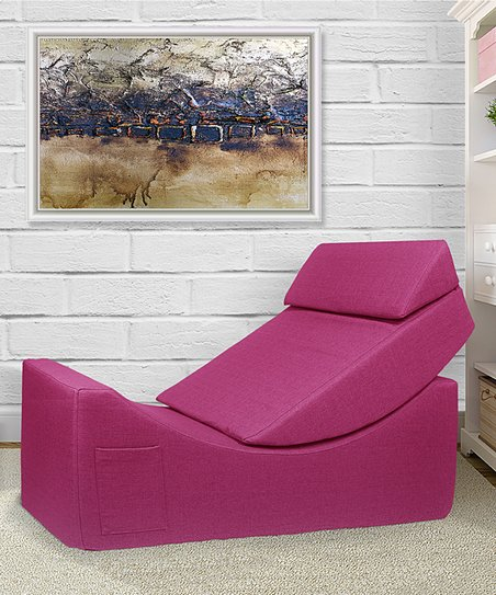 Fuschia Catalyst Accent Chair