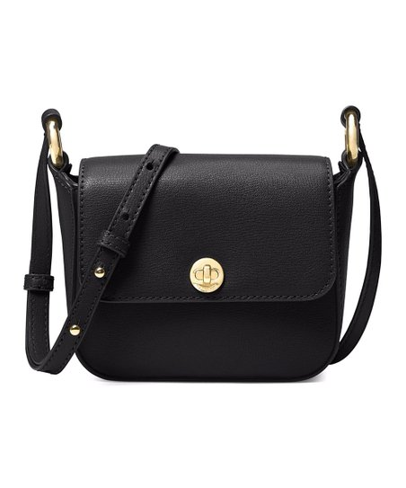 8215422a0949 Michael Kors Black Rivington Large Flap Crossbody Bag
