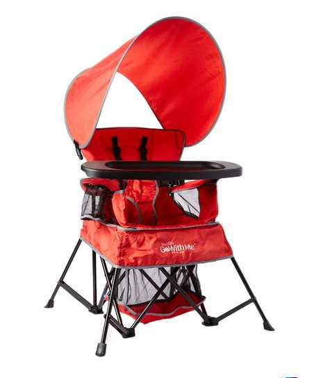 love this product True Red Go With Me Portable Indoor/Outdoor Chair  sc 1 st  Zulily & Baby Delight True Red Go With Me Portable Indoor/Outdoor Chair | Zulily