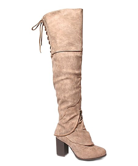 26acb1c9d20 love this product Taupe Too Leo Wide Calf Boot - Women