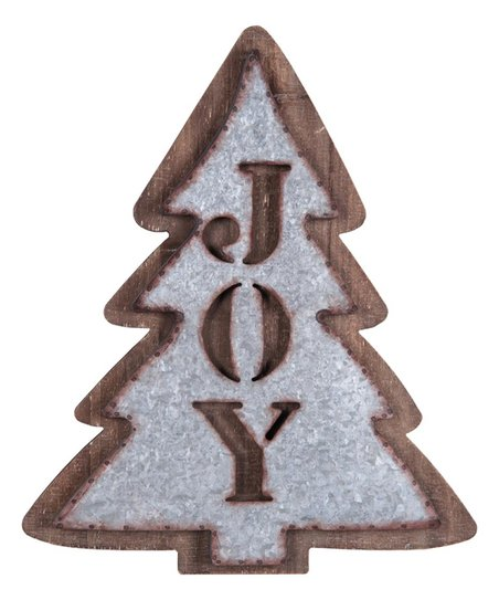 Foreside Joy Industrial Cutout Holiday Tree Wall Décor Best Price And Reviews Zulily