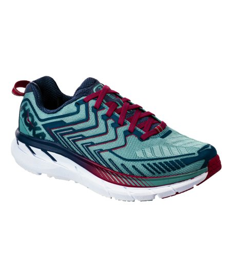 HOKA ONE ONE Aquifer   Vintage Indigo Clifton 4 Running Shoe - Women ... 892263f57