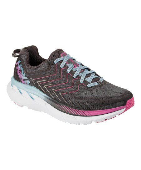 various colors 4c8bc 1dde3 HOKA ONE ONE Castlerock & Asphalt Clifton 4 Running Shoe - Women