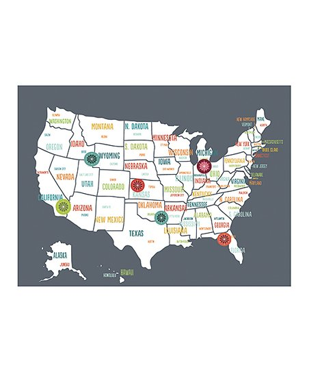 Where Is Iowa On The United States Map.Global Guardian Project Charcoal Gray United States Of America Map