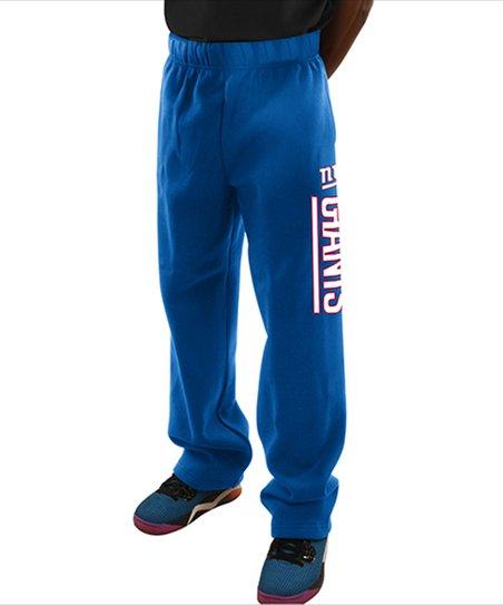 ee8727bd Majestic Athletic New York Giants Royal Fleece Pants - Men's Big & Tall