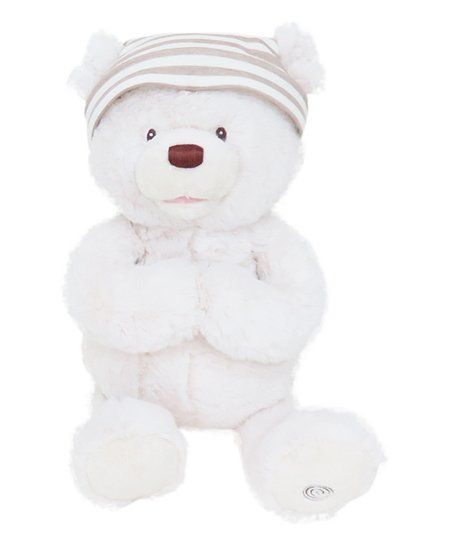 Gund Goodnight Prayer Bear Animated Plush Toy Zulily