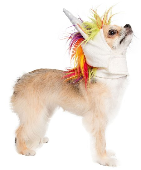 141a1b1299ad3 Pet Krewe Unicorn Cat & Small Dog Costume | Zulily