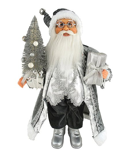 Silver Splendor Santa Claus Statue Best Price And Reviews Zulily