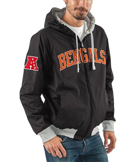 love this product Black Cincinnati Bengals Zip-Up Hoodie - Men 5615378a359c
