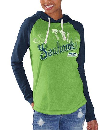 best service 13ce5 777a4 Green Seattle Seahawks Hoodie - Girls