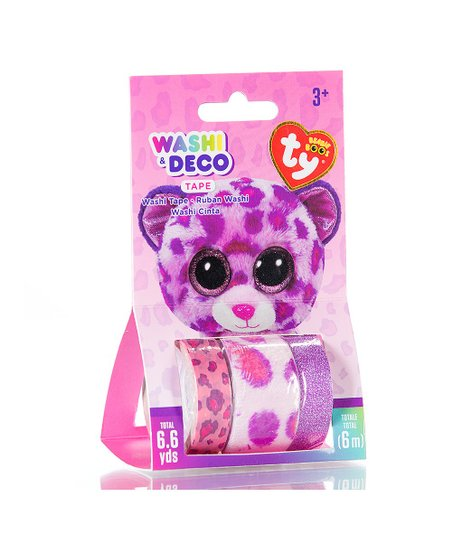 606d1ba048f love this product Pink Beanie Boo Leopard Washi Tape Set
