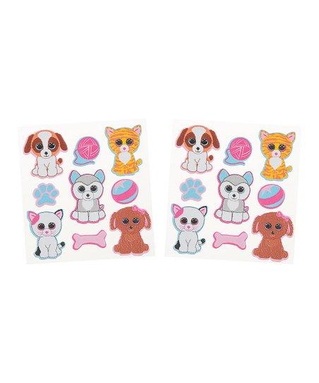 Beanie Boos Beanie Boo Foam Sticker Set  f164d7ff2a9