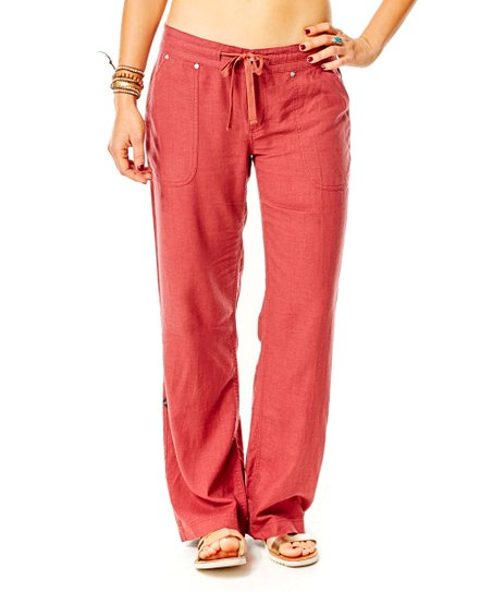 Carve Designs Sienna Kailua Linen-Blend Pants