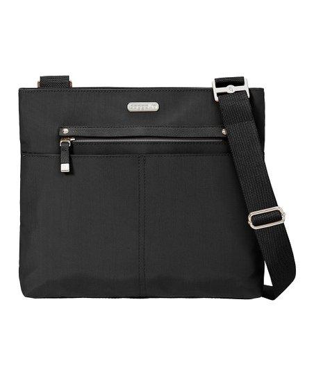 baggallini Black All Around Large Crossbody Bag   zulily 43e1ebaab4