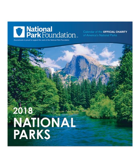 2018 national parks wall calendar