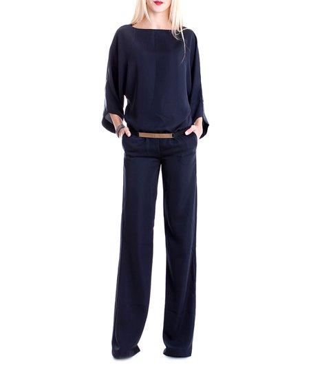 cae2d3c648fa Andrea Crocetta Blue Belted Jumpsuit - Women