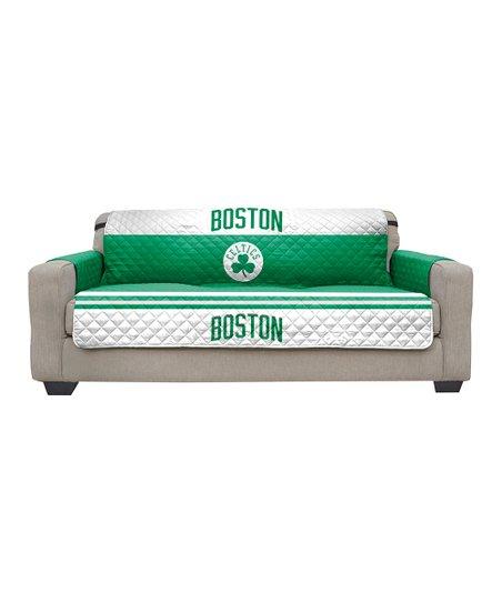 Pegasus Sports Boston Celtics Sofa Reversible Furniture Protector