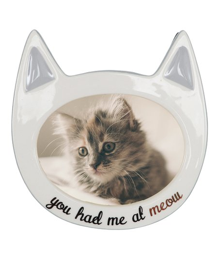Dei You Had Me At Meow Frame Zulily