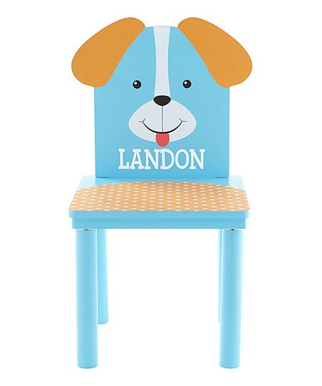 Puppy Personalized Little Critter Chair