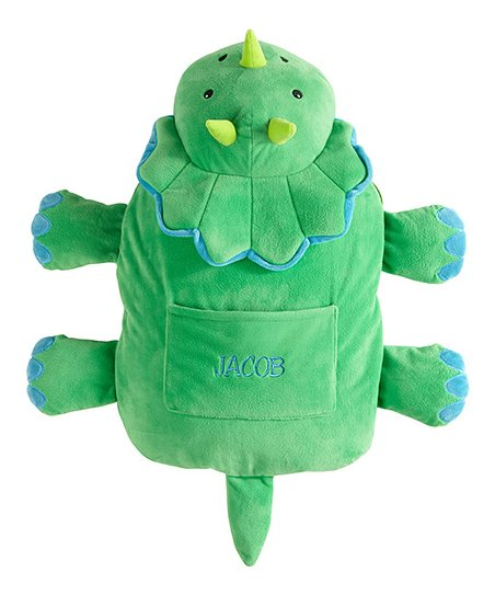 Personal Creations 9 5 Dinosaur Personalized Blanket Plush Toy Zulily