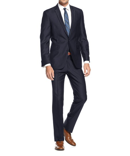 7e23ab687641 love this product Navy Blue Fitted Two-Piece Suit - Men, Big & Tall