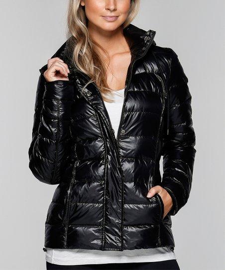 e683b63a2142 Lorna Jane Black Ultimate Puffer Jacket - Women