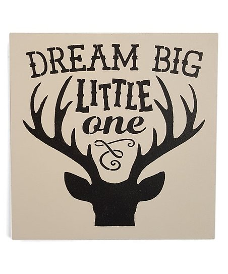 Sara's Signs 'Dream Big Little One' Wall Sign