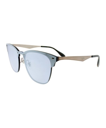 12c455bcd2 love this product Dusty Blue   Black Clubmaster Sunglasses - Unisex