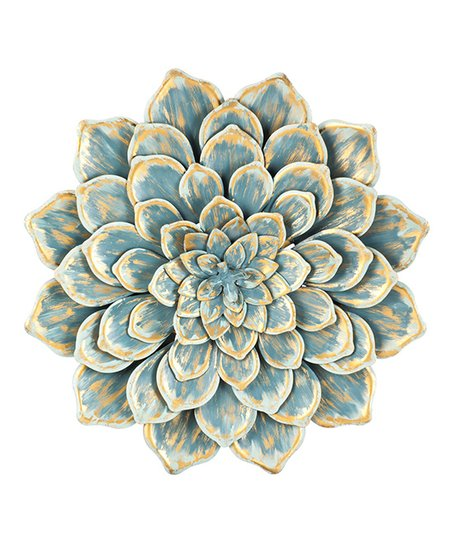 269cdbd9b7 Cape Craftsmen Blue Layered Flower Metal Wall Décor | Zulily