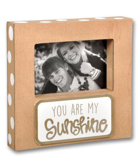 Magnolia Lane You Are My Sunshine Wood Block Picture Frame Zulily