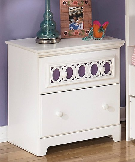 Signature Design by Ashley Furniture White Zayley Two-Drawer ... 9fcaeeca0