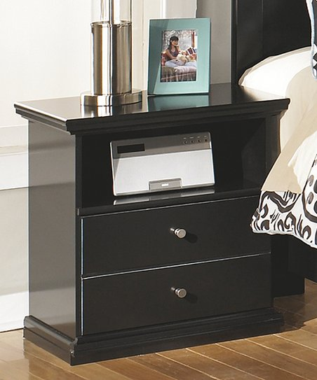 Signature Design by Ashley Furniture Black Maribel One-Drawer ... d36379d32