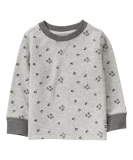 Crazy 8 Baby Boys Toddler Long Sleeve Thermal Tee