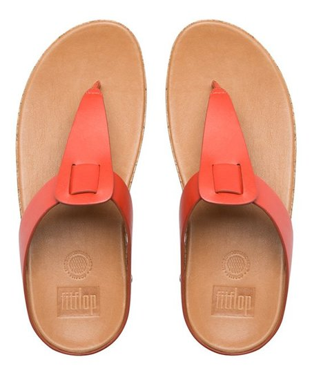 d5c327c5d FitFlop Flame Ibiza Cork Leather Flip-Flop - Women