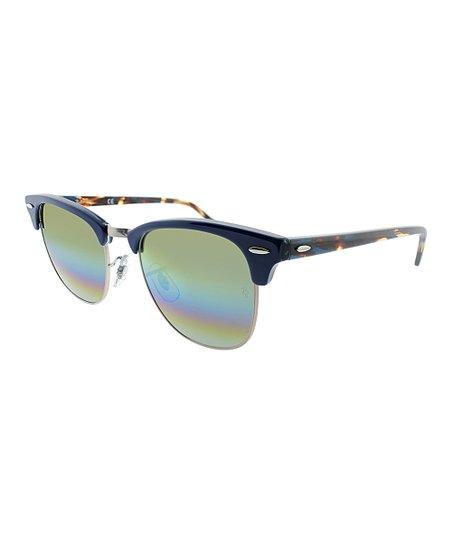 c5db3adf4e love this product Blue   Rainbow Clubmaster Sunglasses - Unisex