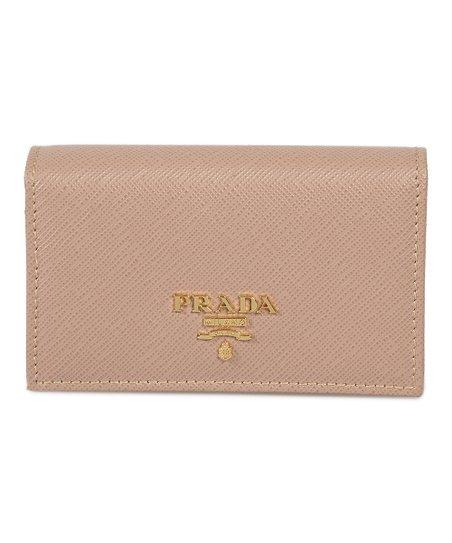b978fc104b9fb9 Prada Cameo Leather Credit Card Wallet | Zulily