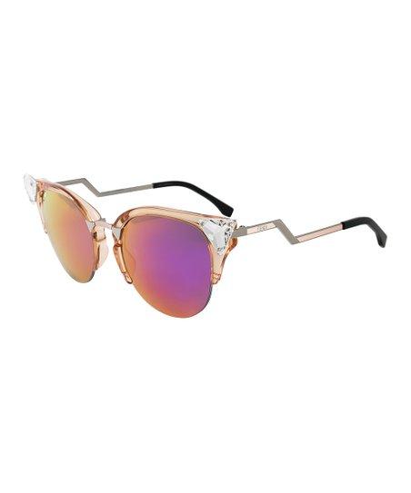 2f792b199 love this product Transparent Amber Iridia Cat-Eye Sunglasses