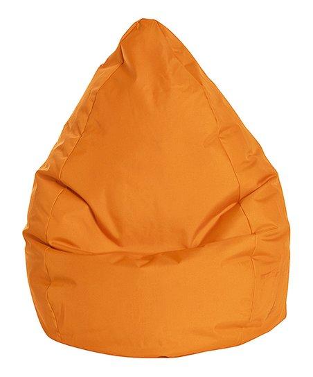 Pleasant Gouchee Home Orange Brava Bean Bag Chair Short Links Chair Design For Home Short Linksinfo