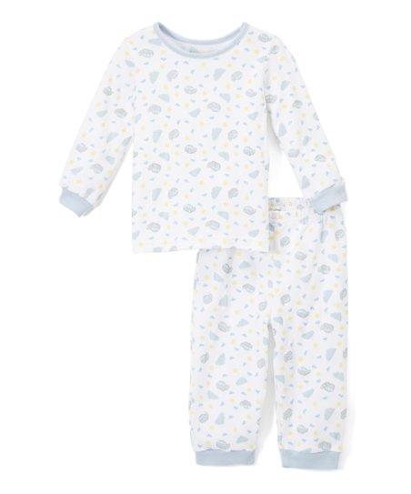 b657bfdee0fb Spencers Blue   White Planes Long-Sleeve Pajama Set - Infant