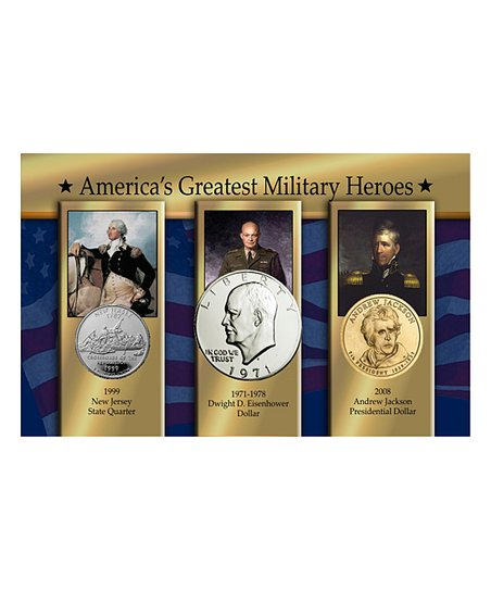 The Matthew Mint America's Greatest Military Heroes Coin Set