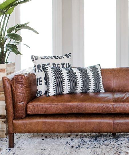 Pleasing Edloe Finch Finley Leather Sofa Inzonedesignstudio Interior Chair Design Inzonedesignstudiocom
