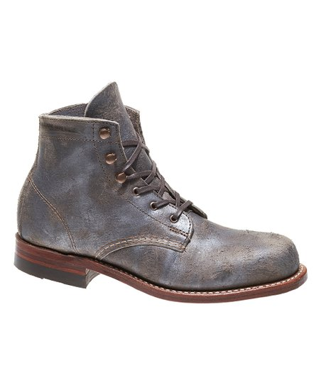 5b3d4c694d0 Wolverine Gray 1000 Mile Leather Boot - Women