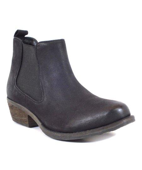 0b71a5ba5c9 Chelsea Crew Black Label Black River Leather Ankle Boot - Women