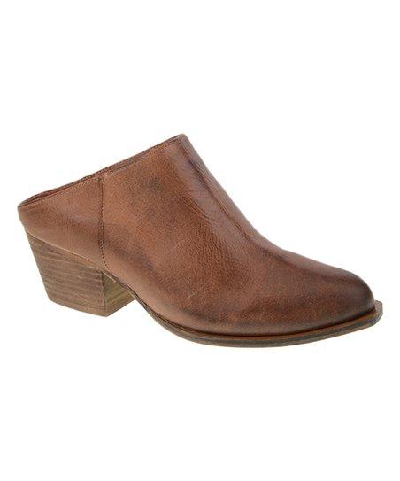 64a4ecba2cc love this product Tobacco Sheela Leather Mule - Women