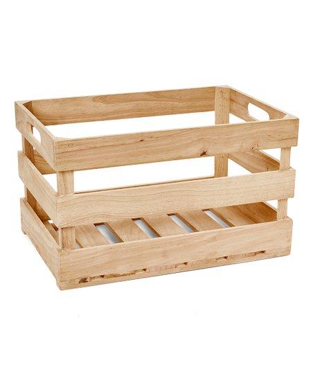 Hampton Art Wood Slat Crate