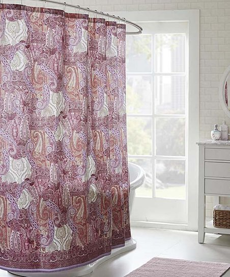 Love This Product Pink Paisley Shower Curtain