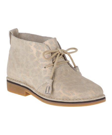 b96fff8f2c1 love this product Natural Leopard Cyra Catelyn Suede Chukka Boot - Women