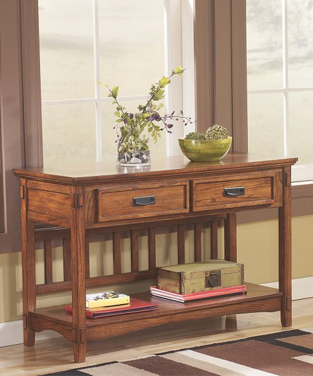 Signature Design By Ashley Furniture Cross Island Console Table Zulily