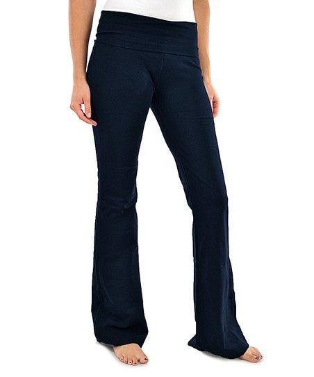 6006a24b26394 love this product Navy Yoga Pants - Women